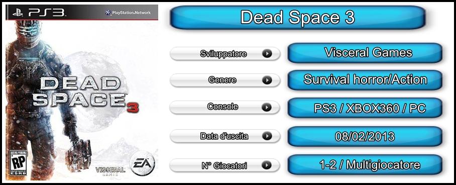 dead space 3 recensione