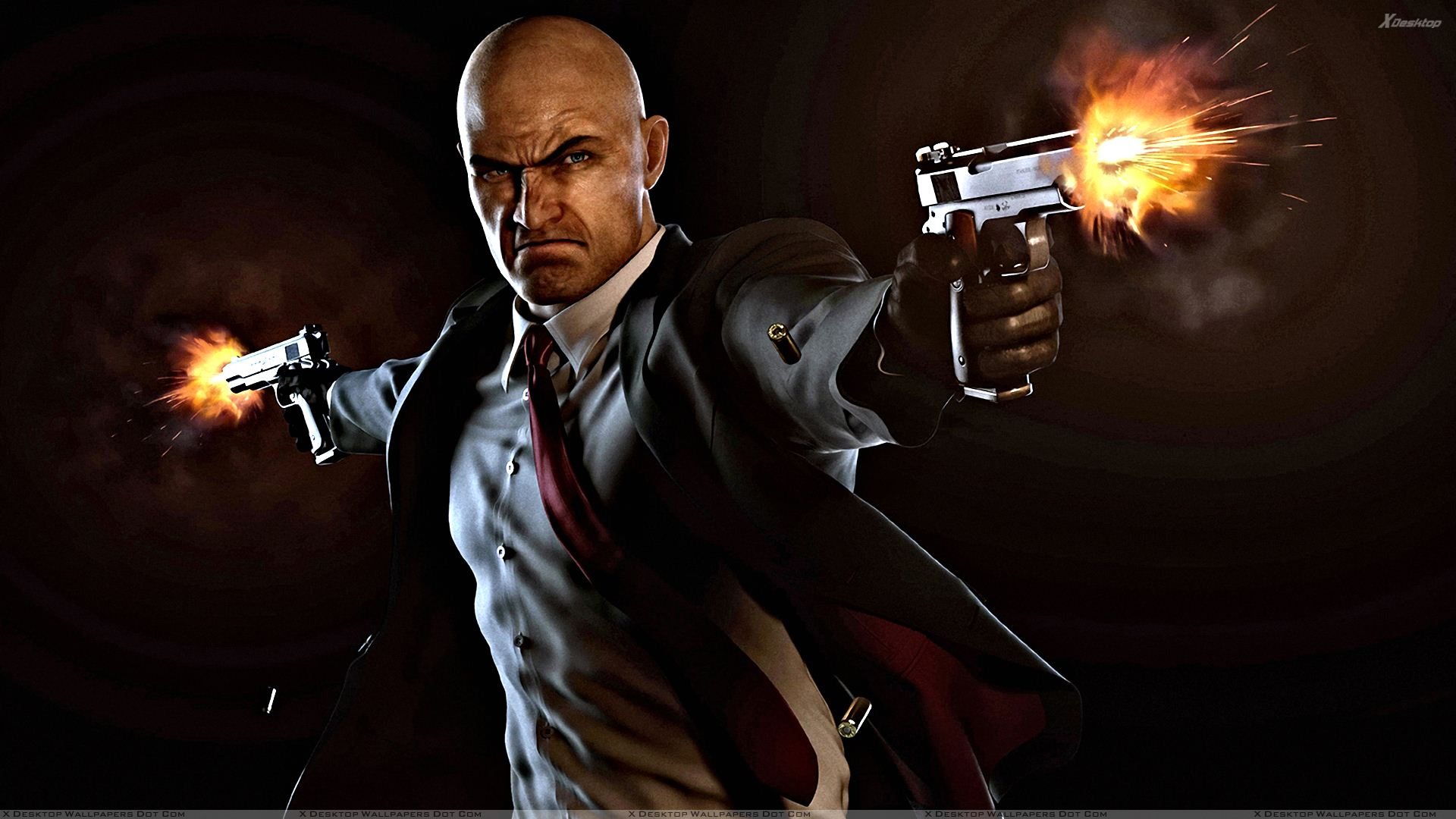 Hitman Absolution - Firing With Both Guns