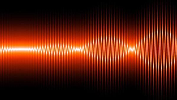 Sound waves, artwork
